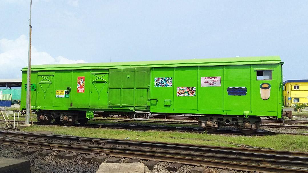 Wagon vert
